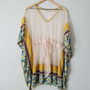 Anthropology Altar'd State bathing suit cover up